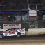 """Kyle Moore with the """"Poague Memorial"""" victory!"""