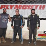 Non qualifiers feature left to right: James Headley second, Dalton Bishop third, Andrew Short winner.