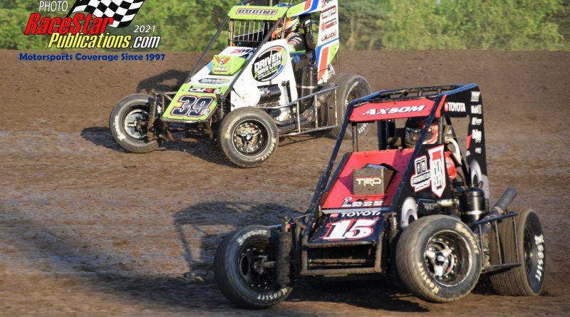 Gas City Speedway USAC Indiana Midget Week; Will Shunk Photos