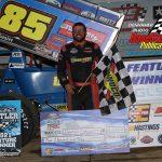 Feature winner Dustin Daggett