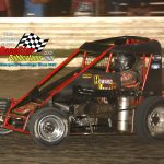 Jake Neuman and his No. 57 on their way to victory.