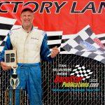 Veteran Wisconsin racer James Swan captured the 20-lap Midwest Truck Series headliner.