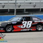 Jeff Holtz and his No. 38 had fast time honors for the Mid Am Stock Car Series only to see rain wash away the scheduled series race.