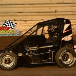 Nick Baran and his No. 11 were the fast qualifier among 28 Badger midgets.