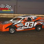 Tim Loomis and his No. 93 are a sharp-looking combo in the street stock class.