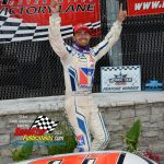 """Ty Majeski won the rain-shortened (at 81 laps) Father's Day Special ARCA Midwest Tour late model stock car special at the """"Milwaukee Mile"""" Sunday afternoon."""
