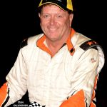 Rich Bickle Jr. before the start of the 100 lapper.