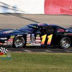 Anthony Danta in the Trgovich Racing No. 11.