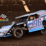 Mike McKinney and his No. 96 were champions in the modified division at FALS this season.