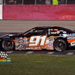 Ty Majeski and his Camry No. 91 on their way to victory.