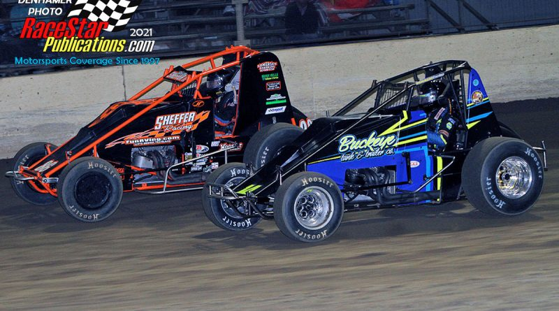 "Kokomo Speedway ""Klash"" Saturday; Jim DenHamer Photos"