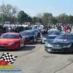 The feature field for the ARCA Midwest Tour Oktoberfest 200 gets statged on the LaCrosse quarter-mile.