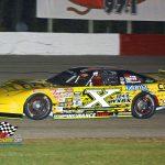 """Driver X"" Jon Reynolds Jr. (#X) was this year's Big 8 Late Model Series champion."