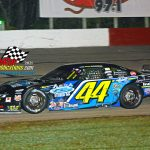 """Justin Mondeik and his No. 44 captured the """"Stubby 25""""."""