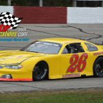 Racing stock cars since the 1970s, veteran Minnesota racer Mark Lamoreaux and his No. 26 were among drivers in the 200.
